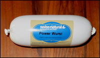 Power Wurst von Swiss natural